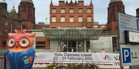Midlands Rare Disease Showcase Birmingham Children's Hospital