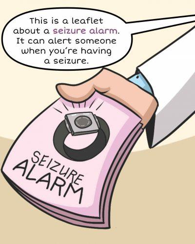 Seizure Alert Device